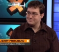 "2009 - X-Play interview about <moby game=""Watchmen: The End is Nigh Part 1"">Watchmen: The End is Nigh Part 1</moby>."