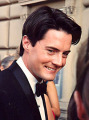 Kyle MacLachlan in August, 1991, at Emmy awards(photo by Flickr user Alan Light)