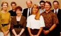 Cynthia Wuthman (most left) and the Lucasfilm managing team, 1991. Source: Amiga Power #7, 1991/11