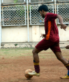 May 2012(source: Vishal playing football)