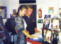 Circa 1994Hermann Achilles and Judith Hartmann (Joysoft)Source: Amiga Games 1994/9