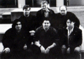 Circa 1994  Front Row (left to right): Nelson Wang, Colin Silverman, Peter Wong. Back Row: Tim Meekins, Dale Henderscheid, Jeff Thomas source: Toughman Contest manual