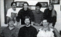 Circa 1995  Front Row (left to right): Doug Schilling, Jeremy Corley, Steve Ettinger source: NHL Hockey (Game Gear manual)
