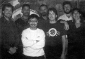 Circa 1993 <br> Mike Lubuguin (front row, far left) <br>Photo by Roz Delligatti<br><small>source: <i>Jungle Strike</i> (Genesis manual)</small>