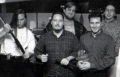 Circa 1995  Aaron McClay, Mike Lopez, Thom Phillabaum, David Costa, Steve Murray  source: Road Rash 3 (manual)