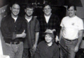 Circa 1995  Randy Eckhardt, Rich Rogers, Anji Mayfield, Mike Hensley, Brian Reed  source: Road Rash 3 (manual)