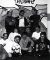 Circa 1994 <br> Middle Row: Lance Wall, Cindy Green, Tony Lee, Jeff Dyck <br> <small>source: <i>Skitchin'</i> (manual)</small>