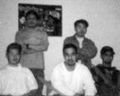 clockwise from top leftKen Shibata, Ray Wong, Omar Velasco, Alvin Cardona, Fred Wongsource: WeaponLord Genesis manual