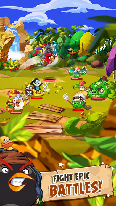 Angry Birds: Epic Screenshot