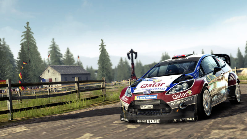 WRC 4: FIA World Rally Championship Screenshot
