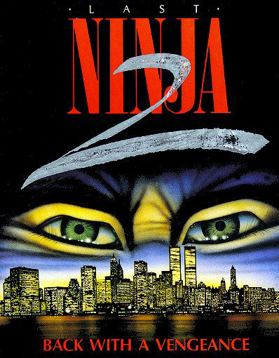 Last Ninja 2: Back with a Vengeance Other Cover (general).