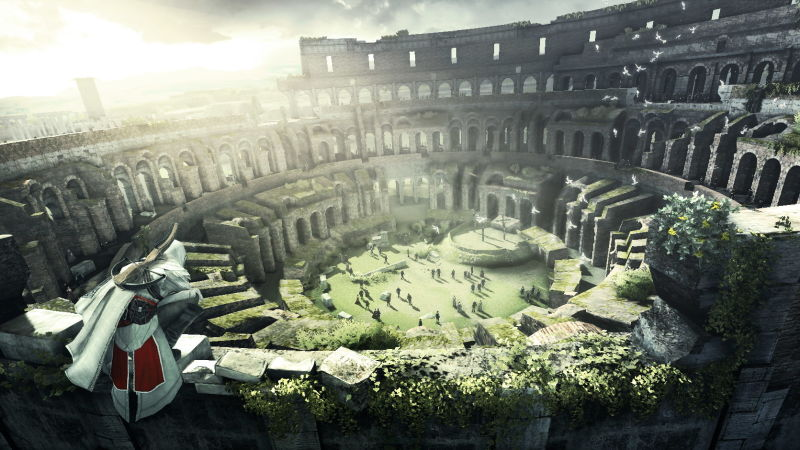 Assassin's Creed: Brotherhood Screenshot The Colliseum