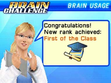 Brain Challenge Screenshot