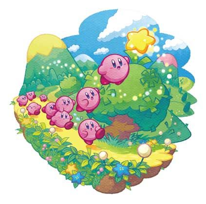 74a3379f8a Kirby  Mass Attack (2011) promotional art - MobyGames