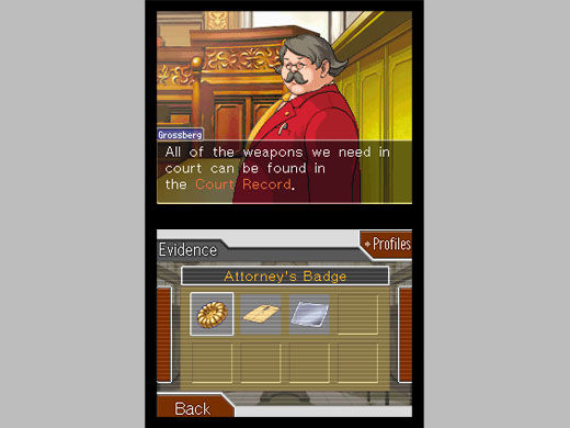 Phoenix Wright: Ace Attorney - Trials and Tribulations Screenshot