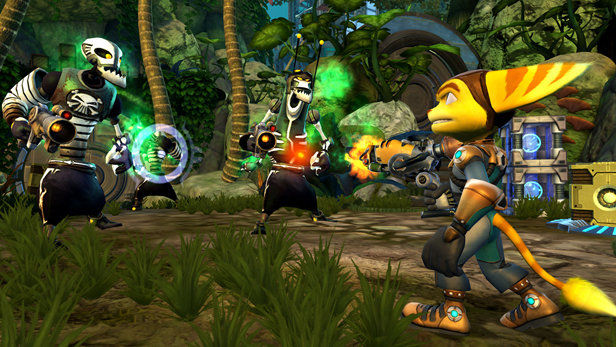 Ratchet & Clank Future: Quest for Booty Screenshot