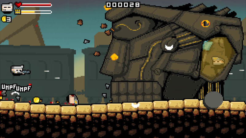Gunslugs II Screenshot