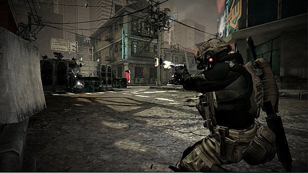 Blacklight: Tango Down (2010) promotional art - MobyGames