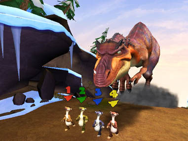 Ice Age Dawn Of The Dinosaurs 2009 Promotional Art Mobygames