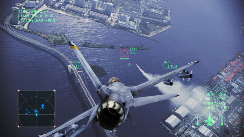Ace Combat: Infinity Screenshot