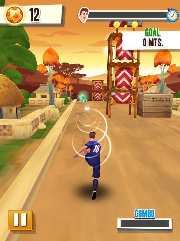 Messi Runner Screenshot