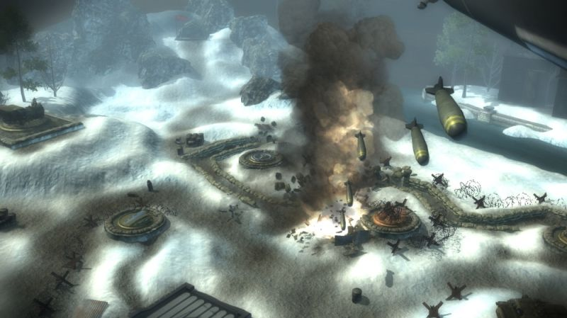 Toy Soldiers: Cold War Screenshot Carpet bombing