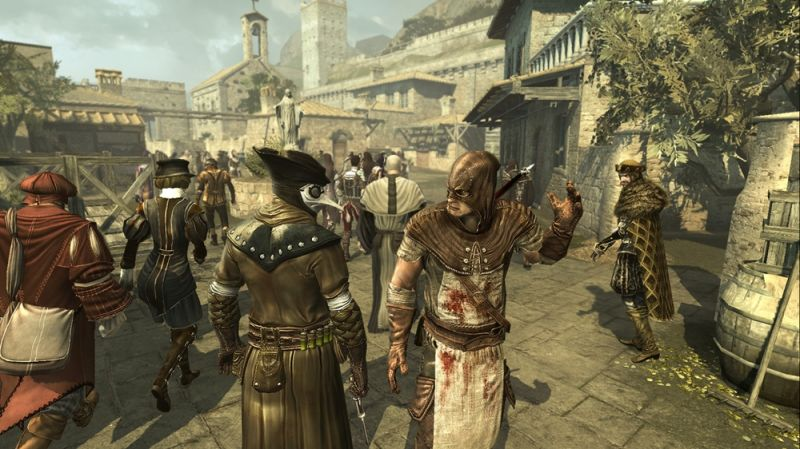 Assassin's Creed: Brotherhood Screenshot Multiplayer characters