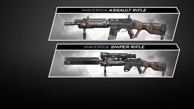 Call of Duty: Ghosts - Weapon: The Maverick Screenshot