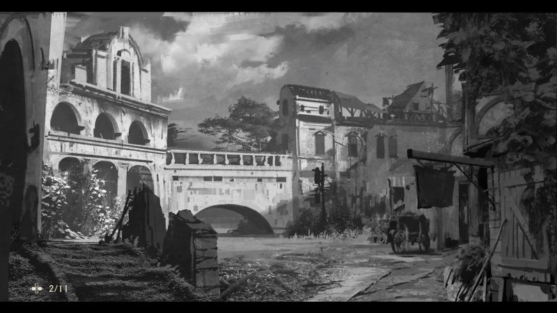 Uncharted 4: A Thief's End Concept Art