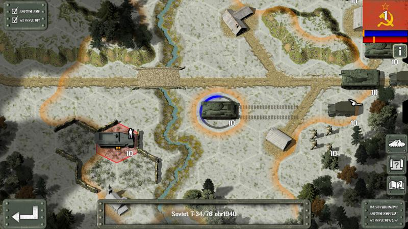 Tank Battle: East Front Screenshot