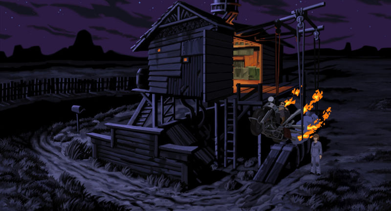 Full Throttle: Remastered Screenshot