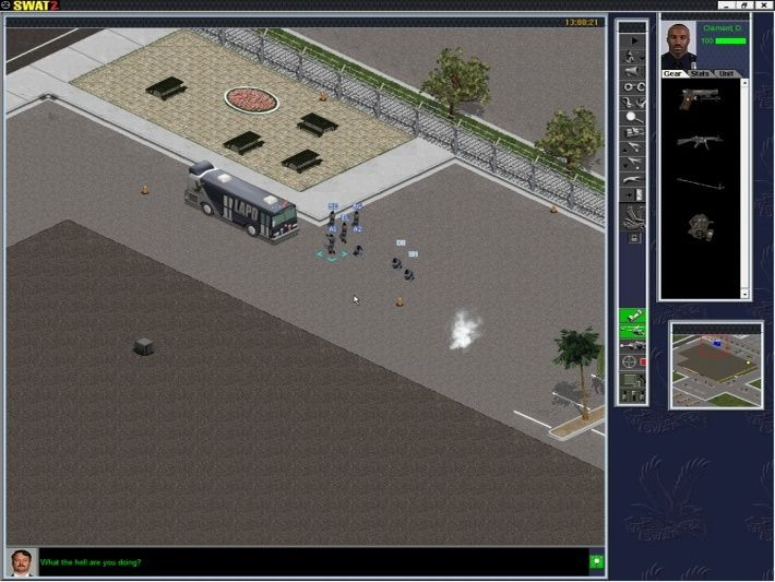 Police Quest: SWAT 2 Screenshot
