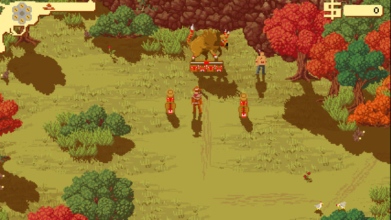 Westerado: Double Barreled Screenshot
