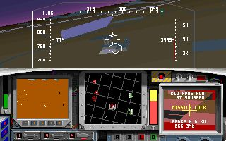 F-15 Strike Eagle II: Operation Desert Storm Scenario Disk Screenshot