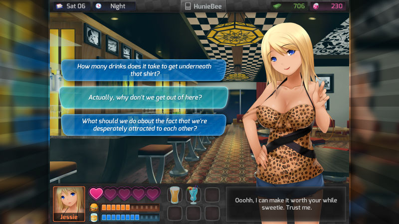 HuniePop Screenshot