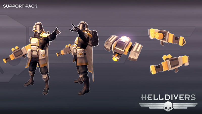 Helldivers: Support Pack Screenshot