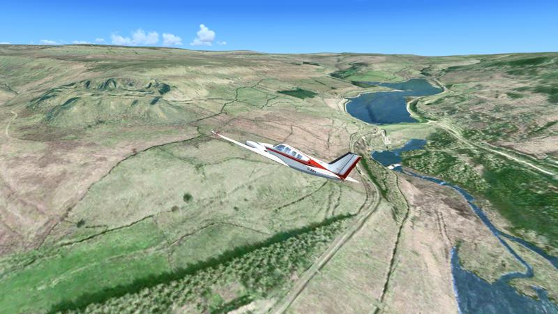 Microsoft Flight Simulator X: Steam Edition - VFR Real Scenery Northern England Screenshot