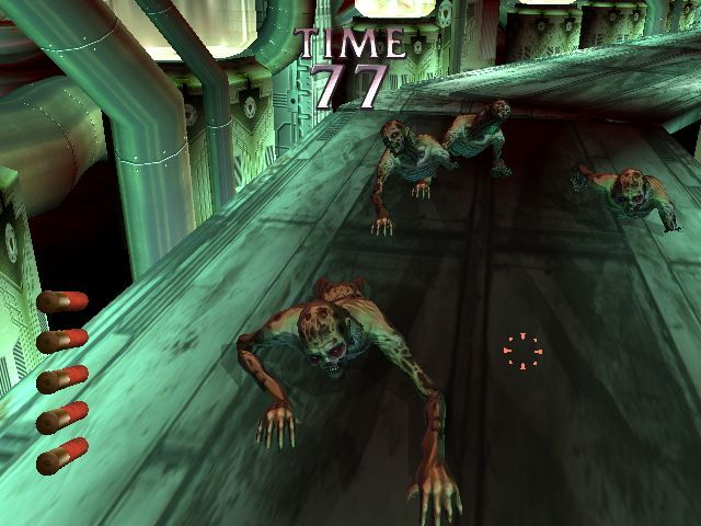 The House Of The Dead Iii 2005 Promotional Art Mobygames