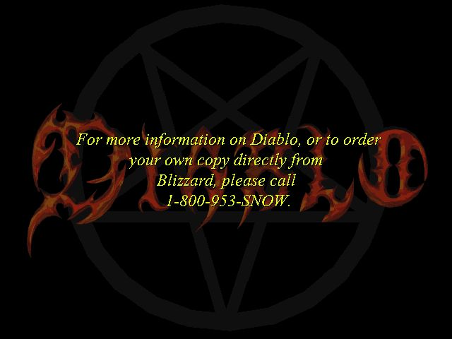 Diablo Other Release/ordering information