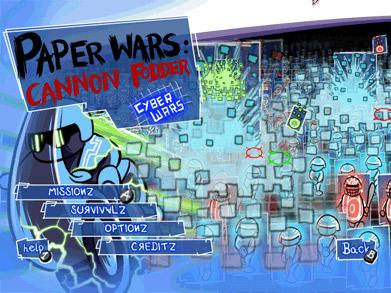 Paper Wars: Cannon Fodder Screenshot