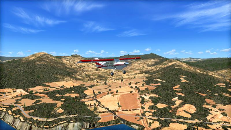 Microsoft Flight Simulator X: Steam Edition - Toposim Australia Screenshot