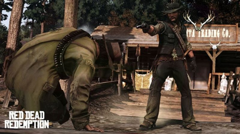 Red Dead Redemption Screenshot Execution - 1