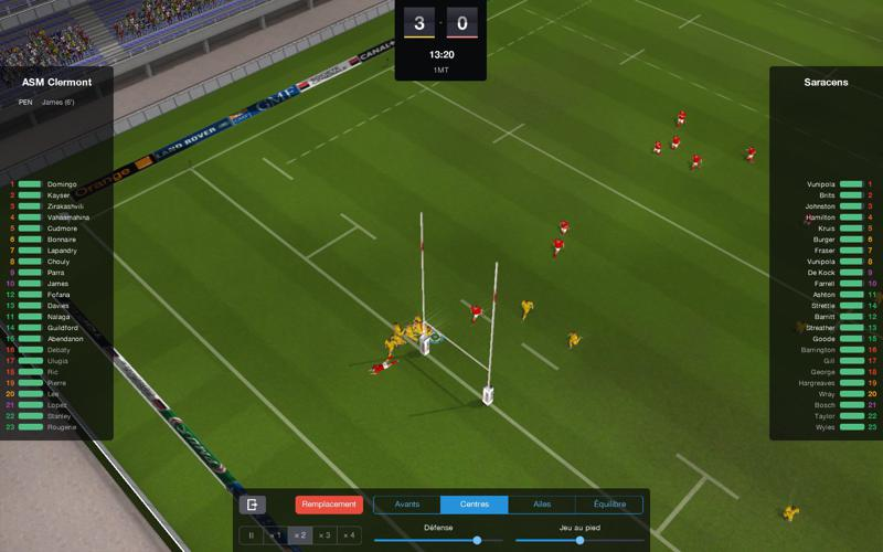 PRM 2015: Pro Rugby Manager Screenshot