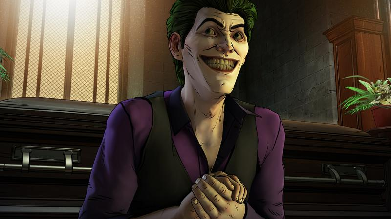 Batman: The Telltale Series - The Enemy Within Screenshot