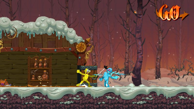 Nidhogg II Screenshot