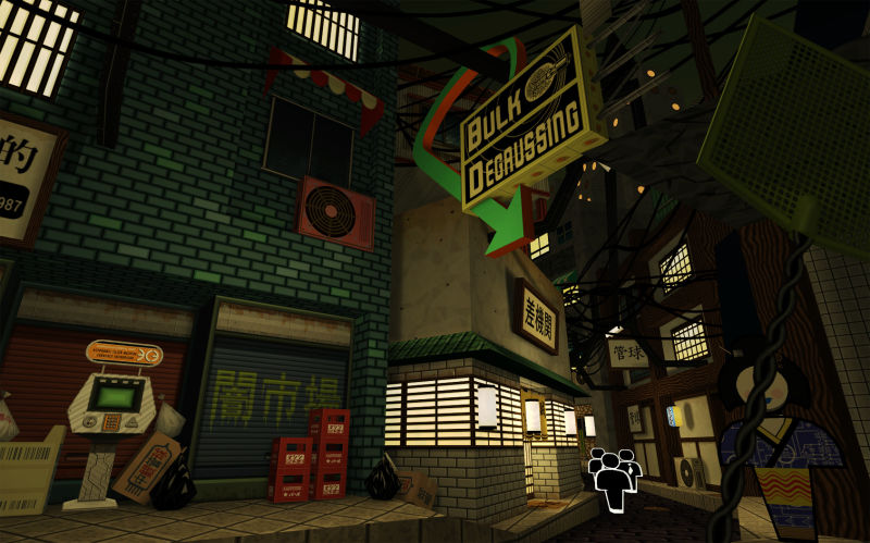 Jazzpunk Screenshot