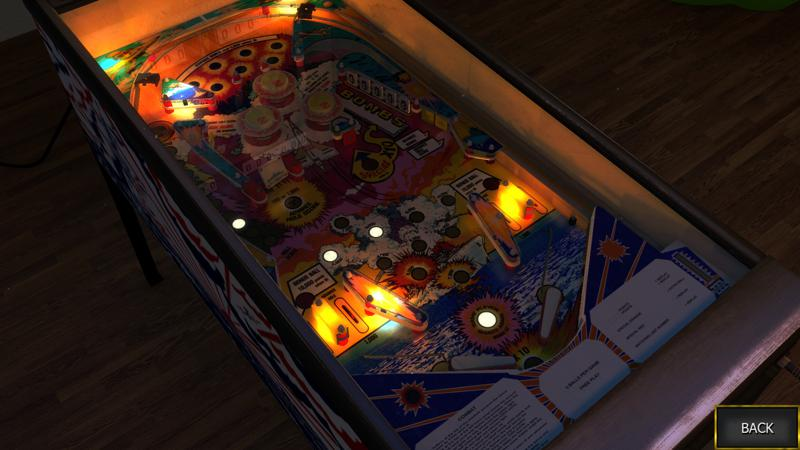 Zaccaria Pinball: Combat Table Screenshot