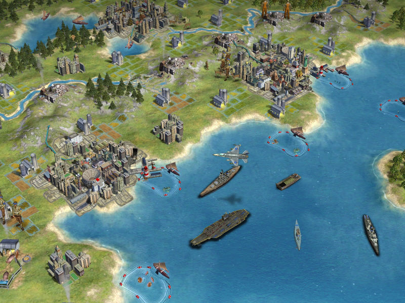 Sid Meier's Civilization IV: Beyond the Sword Screenshot