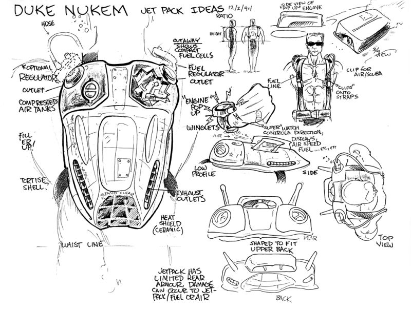 Duke Nukem 3D: Atomic Edition Concept Art