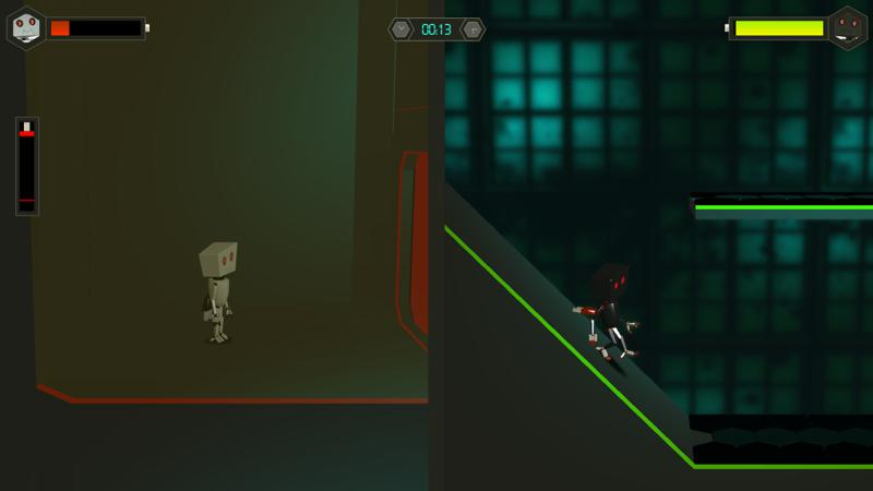 Twin Robots Screenshot